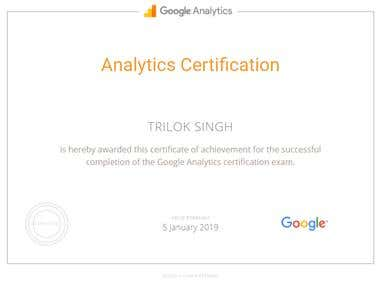 Analytic Certification