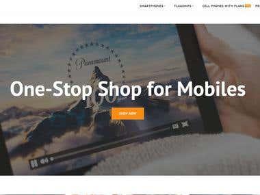 Magento ecommerce Website : http://www.telefoonleader.nl