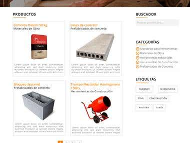 Diseño web para IdeaHome