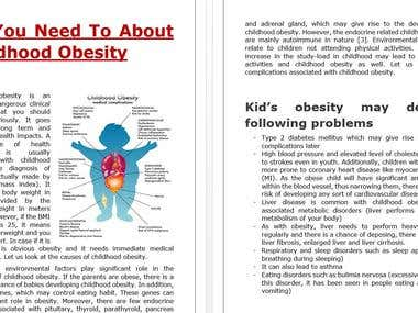 Childhood Obesity- The Threat You Should Consider Seriously