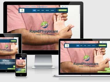 Physiocare Clinic Website