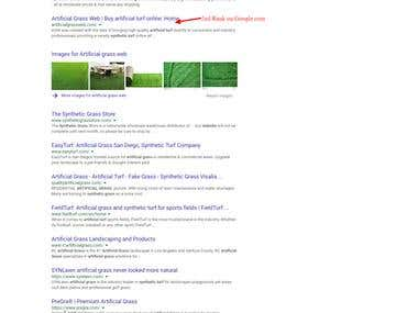 Artificial Grass Woocommerce SEO