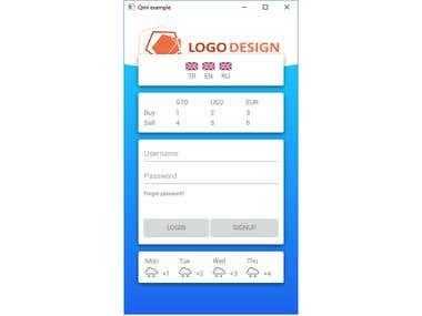 QML Custom components