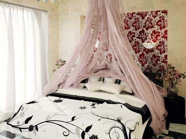 Contemporary Romantic Bedroom