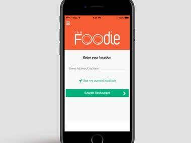 Foodie - Ordering App