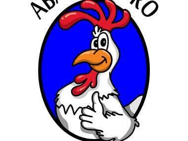 Logo e Mascote do Abatedouro Souza