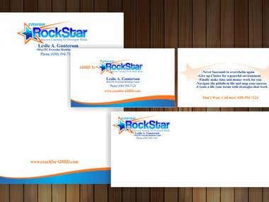 Rock StarStationary design