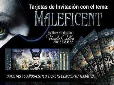 TARJETAS DE INVITACIÓN CUMPLEAÑOS /CARDS INVITATION BIRTHDAY