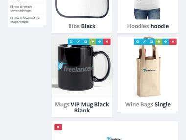 Custom Shirt Design Platform