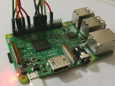 RASPBERRY PI CUSTOM PROJECT