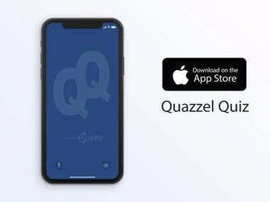 Quazzel-Quiz - Mobile App
