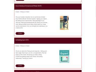 "Financial Advisory Website- ""Balcomb Financial Associates"""