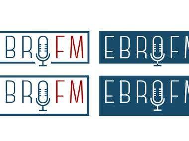 Logo for EBRO FM
