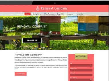 Removal Company Web Design