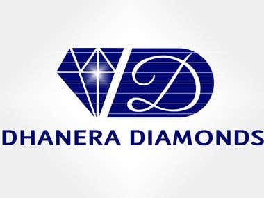 Dhanera Diamonds - Logo Design