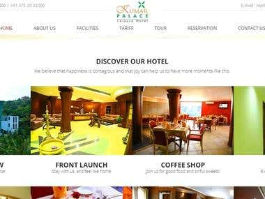Kumar Palace Website