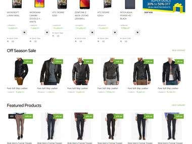 "eCommerce Website ""eBazaari"""