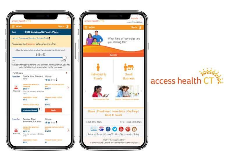 Access Health Ct Responsive Web Platform For Customers Freelancer