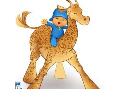 Pocoyo Illustration