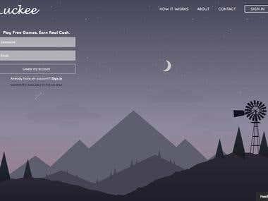 Luckee - Ruby on Rails App