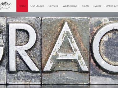New Church Logo and Web Design