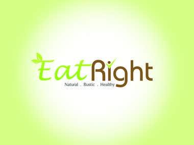 Eat Right Logo Design