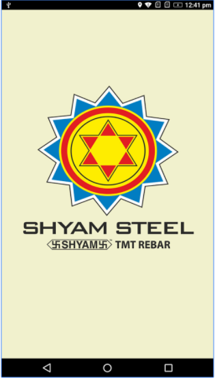 Android App for Shyam Steel CRM