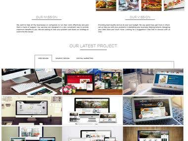 Fully responsive Beautiful website with Avada theme