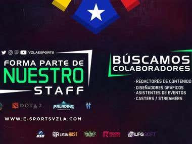 Stream Overlay Designs - eSports Venezuela