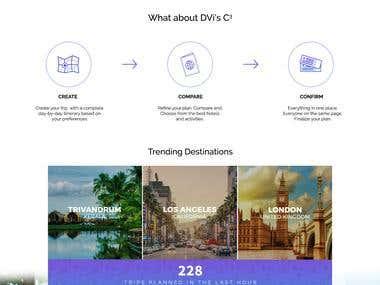 Web UI / UX design