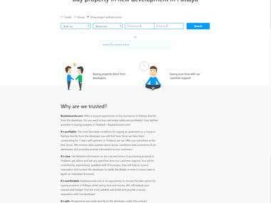 "Real Estate Website- ""Buy Best Condo"""