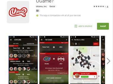 Ugame? Android App