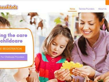 Daybreaktots: Daycare Service Offering Website