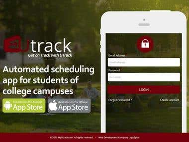 U Track : Schedule Tracking website