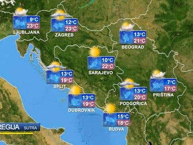 Weather Forecast project TV1