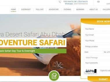 Liwa Desert Safari Abu Dhabi