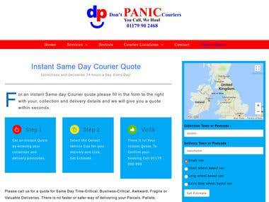 Courier Service Quotation Tool