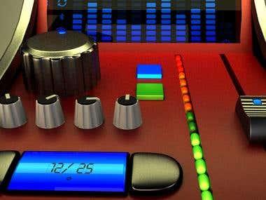 3D Product - DJ Mixer