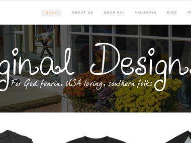Logo, Web, and Merch designs