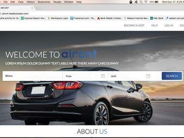 Aircnt Web Application