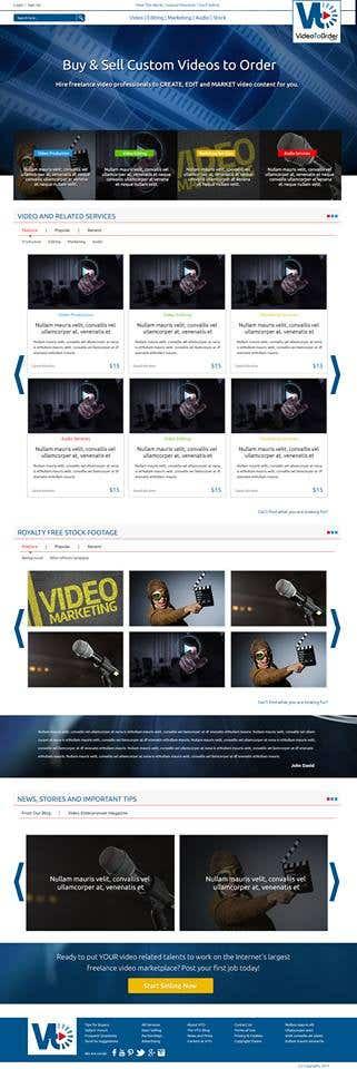 Video Ordering site