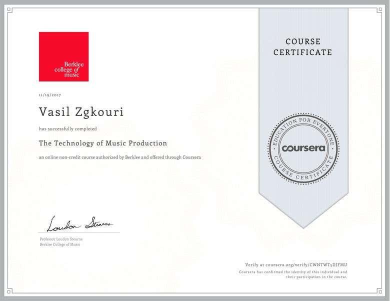 Certifications Freelancer