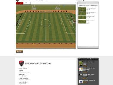 coachfx football educaton web site(Core php and My SQL)