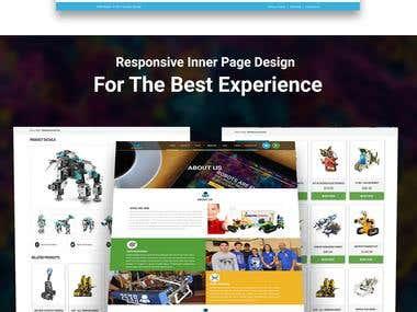 Robotic | Website