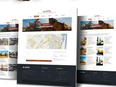 Web Design & Development for Al-Terra