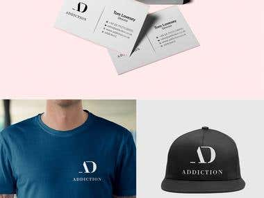 ADDICTION | Branding | Stationary