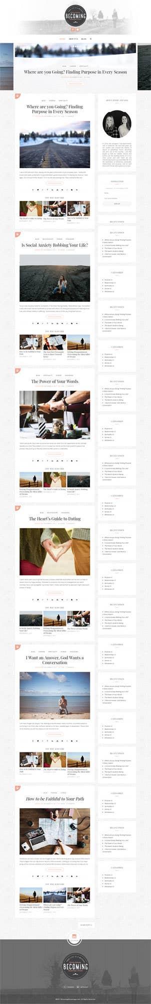 Setting up a personal WordPress Blog