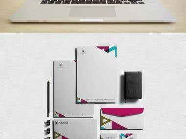 Rafa Munoz || Branding || Stationary Design