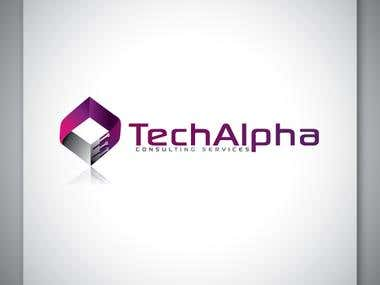 Tech Alpha logo