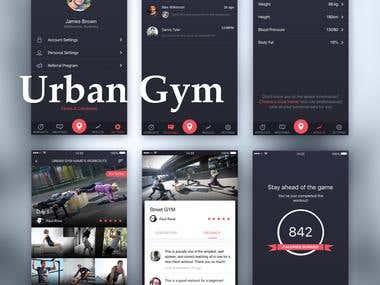 Urban Gyms PT App